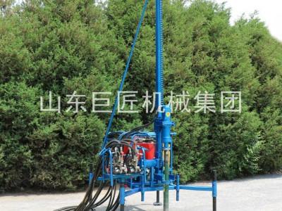 巨匠升级版山地钻机 物探速度快 螺杆空压机耐用