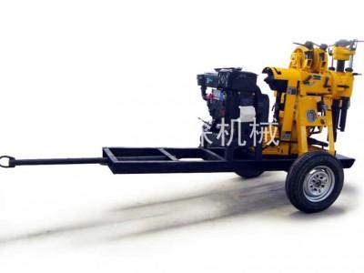 鲁探XYX-130轮式液压岩心钻机回旋式地表深孔水井钻机