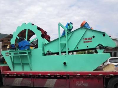 广东沃力机械厂家 江西宜春洗砂机 大型洗砂 砂石骨料
