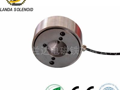 定制吸盘式 圆形电磁铁 H15525 24V直流电源