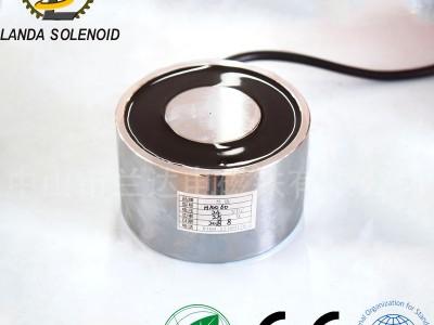 厂家直销吸盘式电磁铁H10060 圆形直流电磁铁