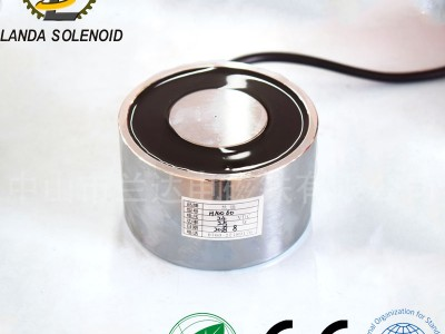 吸盘式电磁铁H16050厂家直销 500KG 直流电磁铁