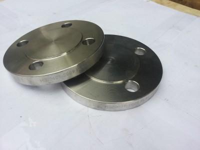 专业定制304 316不锈钢平焊发来看带径法兰盖堵头