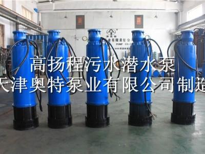 排污用_不堵塞_立式_污水泵