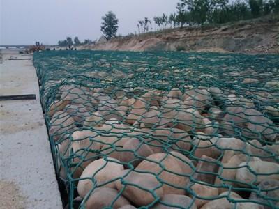 河道治理、边坡防护 固滨笼、绿滨垫、雷诺护垫、石笼网