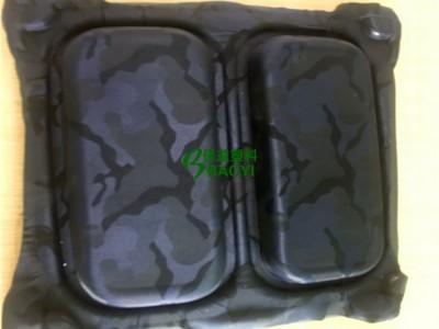 EVA热压包装盒植绒/布EVA成形包装