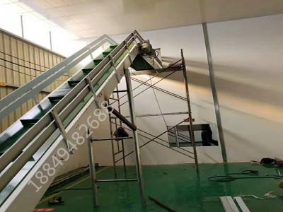 食品输送机 食品爬坡输送机 装车皮带输送机