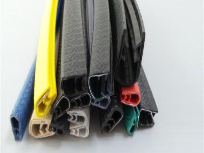 彩色pvc钢带骨架封边保护条