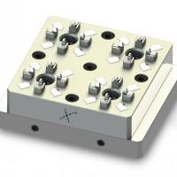 优质高精度快速定位小型手动卡盘 EDM夹具 3R夹具