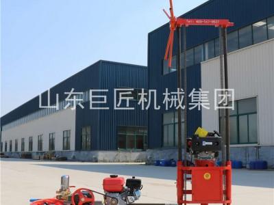 巨匠集团QZ-2C轻便地质钻机好操作易搬运