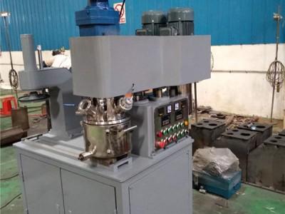 浙江实验强力分散机 广东酸性玻璃胶生产设备 酸性玻璃胶生产线