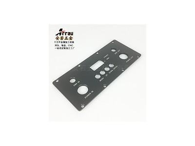 东莞安若五金冲压控制面板精密生产加工厂