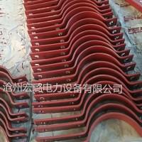 三孔管夹  双孔管夹  盐山支吊架厂家生产销售 量大优惠