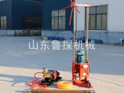 鲁探QZ-2A三相电取样钻机 打岩石25米轻便简单实用广