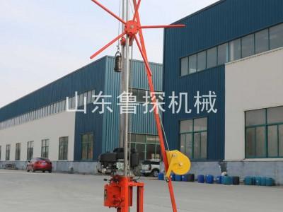 源头匠心制作QZ-2CS型混凝土取样勘探 汽油机轻便取样钻机