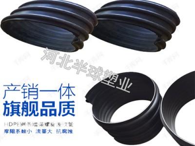 钢带增强波纹管型号 钢带增强螺旋波纹管价格 钢带增强克拉管
