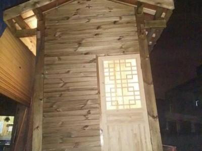 四川仿古门窗成都仿古家具厂博古架厂家实木廊架