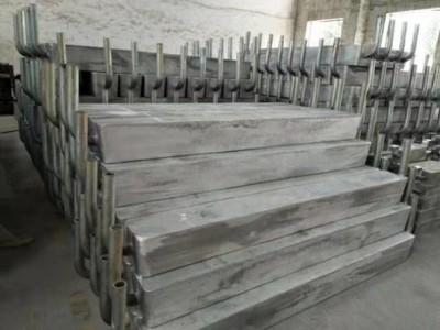 鋼樁碼頭用大鋁陽極|高效鋁犧牲陽極廠家