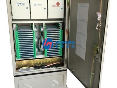 三网融合光交箱576芯新闻发布