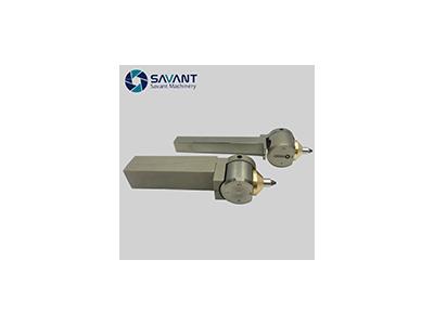 针对热处理淬火钢加工光滑如镜用-钻石滚光刀金刚石滚压工具