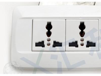 流水线宽板两位插座-皮带流水线插座