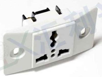 广州窄板一位插座-东莞窄板一位插座