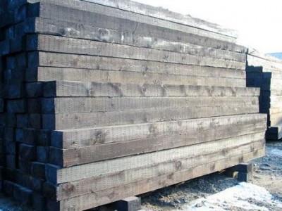 油浸枕木 注油枕木 防腐枕木价格 油浸枕木厂家