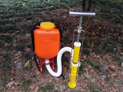 背负式根部施肥机  农业播种机 便携式颗粒状种植施肥器