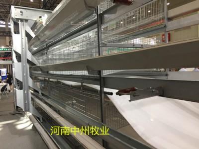 中原养鸡设备新型蛋鸡笼生产厂家全国促销