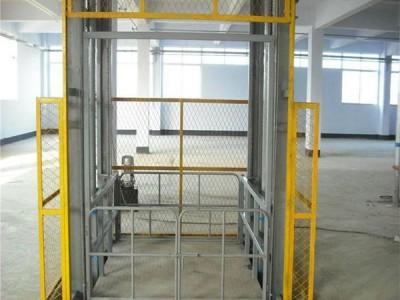 链条导轨式液压升降货梯,升降货梯厂家