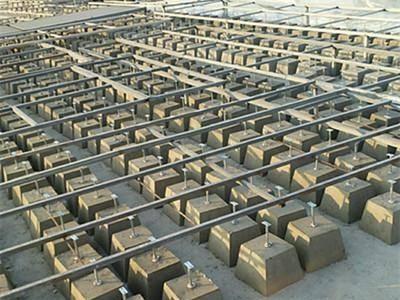 大城县广安镇避雷墩生产厂家 混凝土标号寿命达10年以上