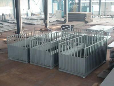 海南英展称牛带轮子围栏3吨电子磅称