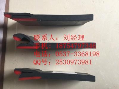 济宁国龙Y型防溢裙板 导料槽挡煤皮 聚氨酯耐磨挡板