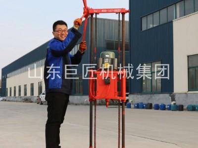 QZ-1A浅层岩芯钻机小型取样钻机巨匠集团提供进尺快效率高