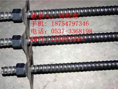 右旋锚杆 等强螺纹钢是树脂锚杆 矿用支护锚杆