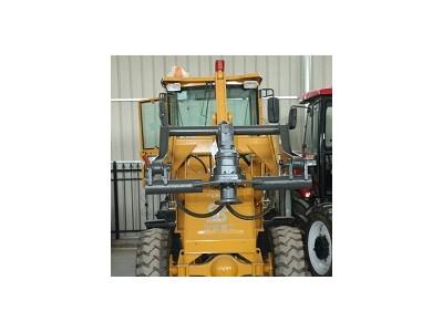 装载螺旋打桩机 电线杆钻孔机 装载机改装各类型打桩机