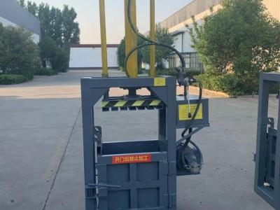 专业废桶压扁机 废料压扁打包机 液压压扁机废旧桶压扁打包机