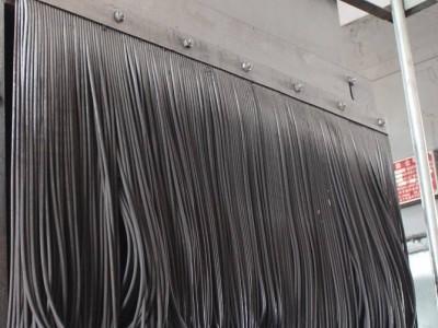 皮带机挡煤帘子250*6mm  防尘帘型号价格