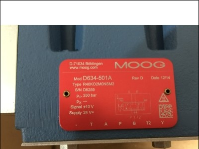 MOOG产品\D634-501A