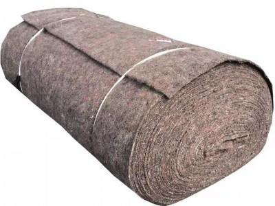土工布无纺布毛毡装修毛毯公路养护毯包装毯温室大棚保温毡防寒毡