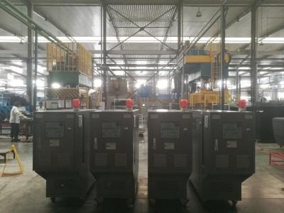 四柱液压机模具加热器热压板加热油循环系统