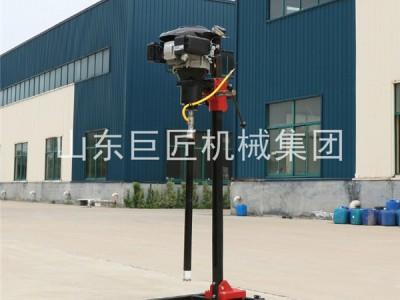 BXZ-2L地质勘探地表岩芯取样钻机 立式背包浅孔钻机