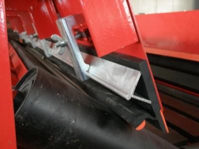 Y型170mm防溢裙板、双层防溢裙板、导料槽防溢裙板