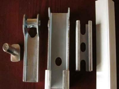 导料槽裙板夹持器 防溢裙板 304不锈钢夹持器批量生产