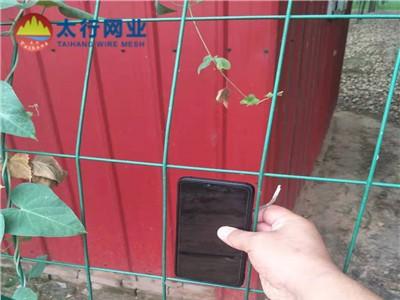 住宅小区锌钢护栏圈地网围网圈地临时防护铁丝护栏网