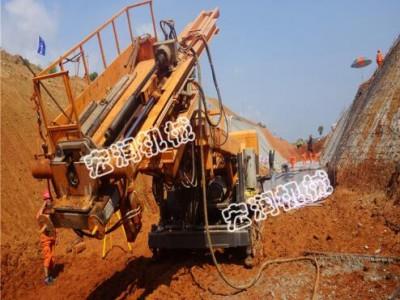 建筑工程护坡钻机 螺旋锚固钻机 7米边坡支护锚固钻机厂家