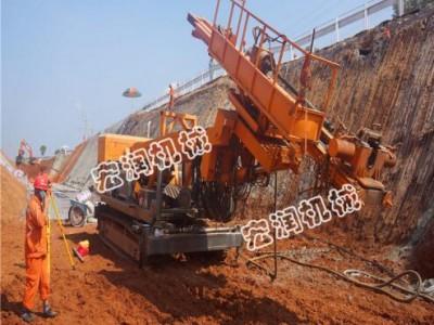 液压锚固钻机厂家直销  边坡支护工程锚杆钻机