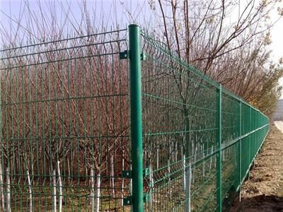 双边丝护栏网 圈地护栏网 铁丝护栏网