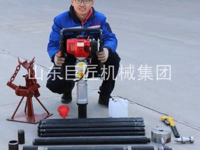 巨匠直供20米取土鉆機qtz-3野外取土樣器單人可操作