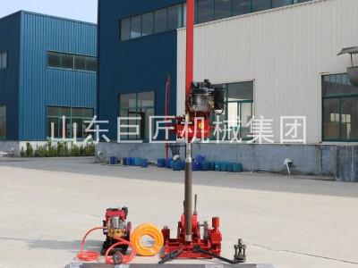 地质工程钻机QZ-3型轻便取样钻机8HP柴油机动力